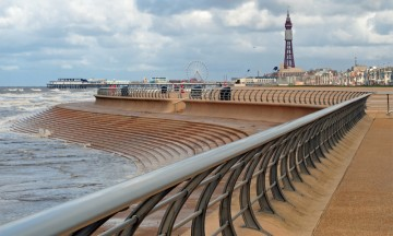 Blackpool Sea Defences, Blackpool